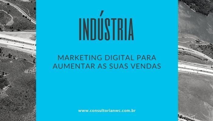 Cinza e Laranja Linkedin Post Cabeçalho - Marketing digital para indústrias: comece a vender mais com essas técnicas